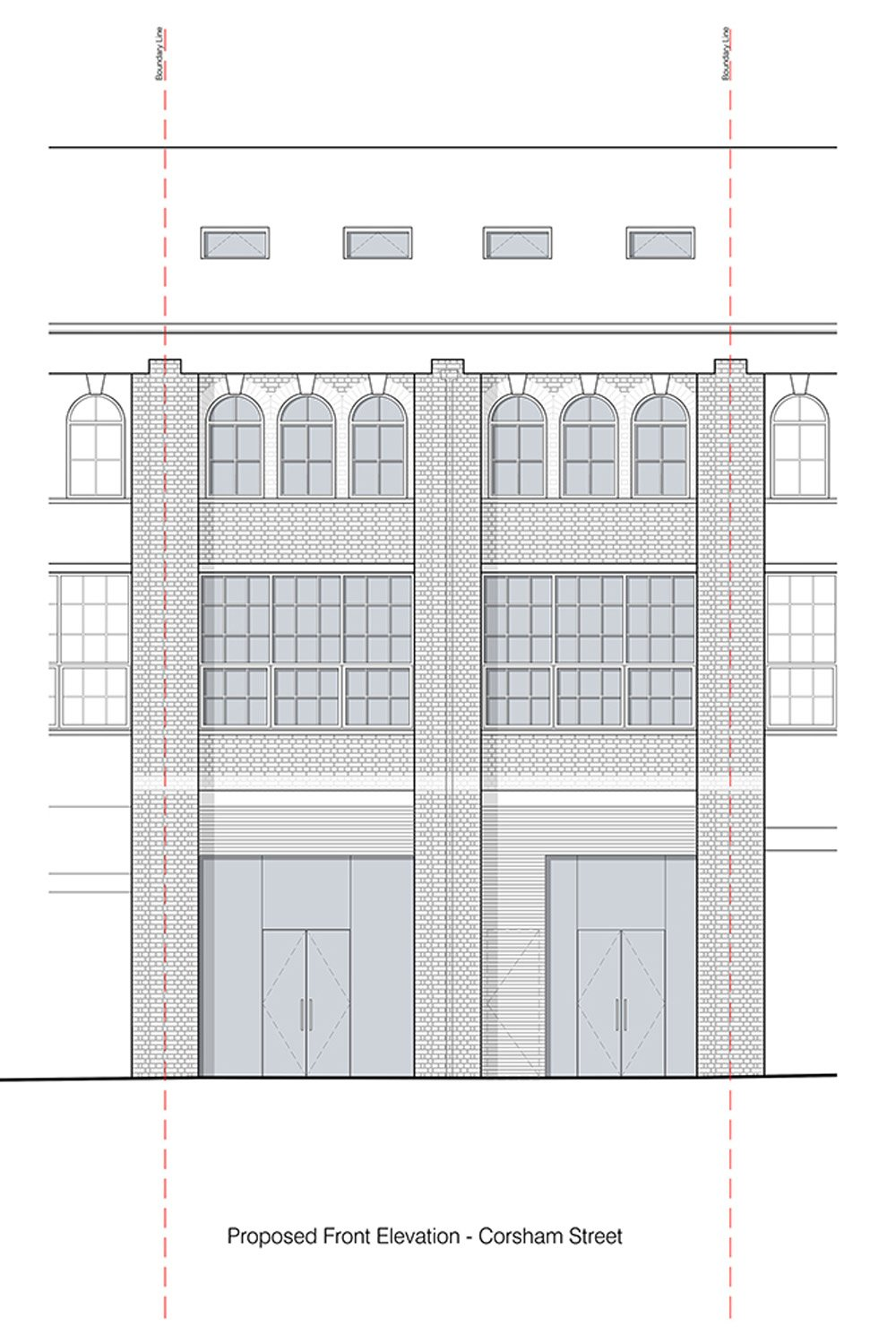 front elevation - Architecture and Design