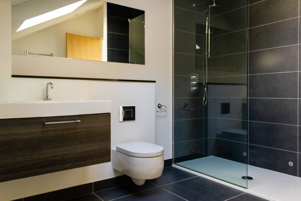 Architectural services - Marble shower room
