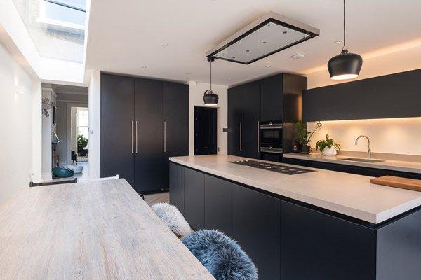 polished concrete kitchen - Architecture and Design