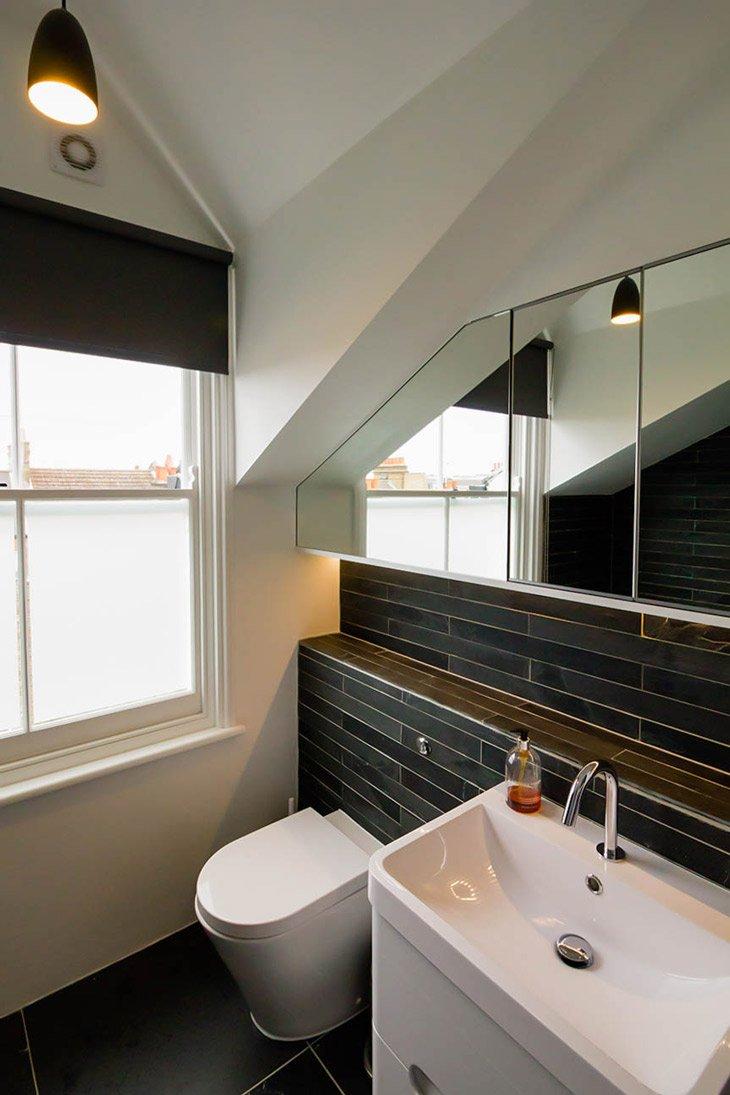 carter designs - black-slate-bathroom - architect Harrogate