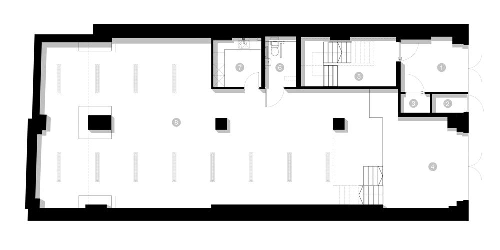 Ground floor plan - BLACK LION LANE