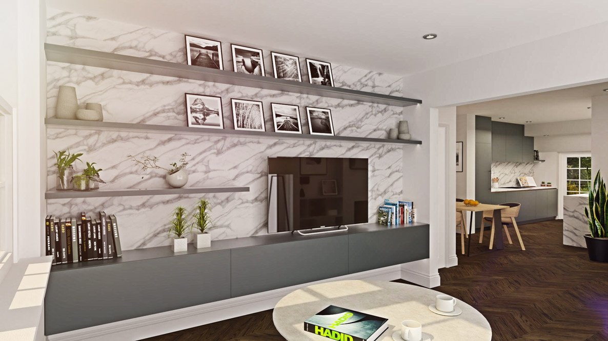 Architectural services - Marble Living room