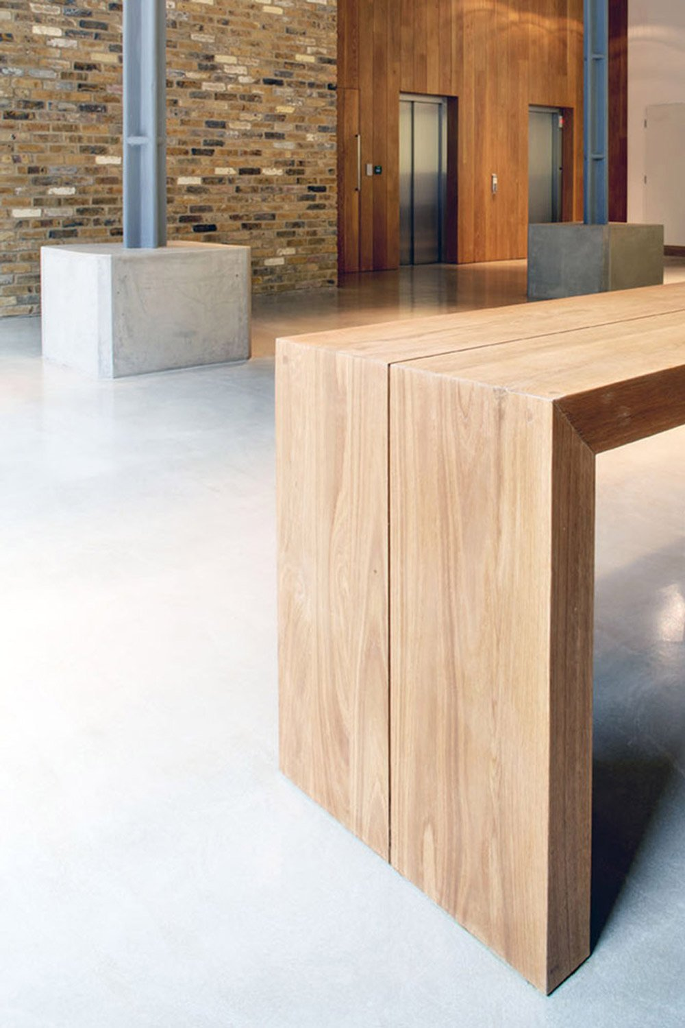 recepton oak- Architecture and Design
