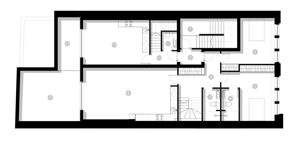 floor plan - carter designs & architechture harrogate