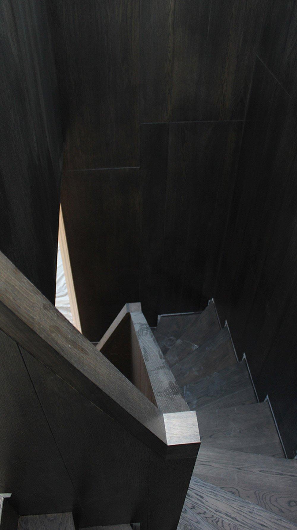 Oak Clad Stair BLACK LION LANE
