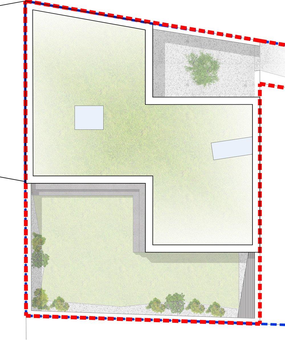 Roof plan - BLACK LION LANE