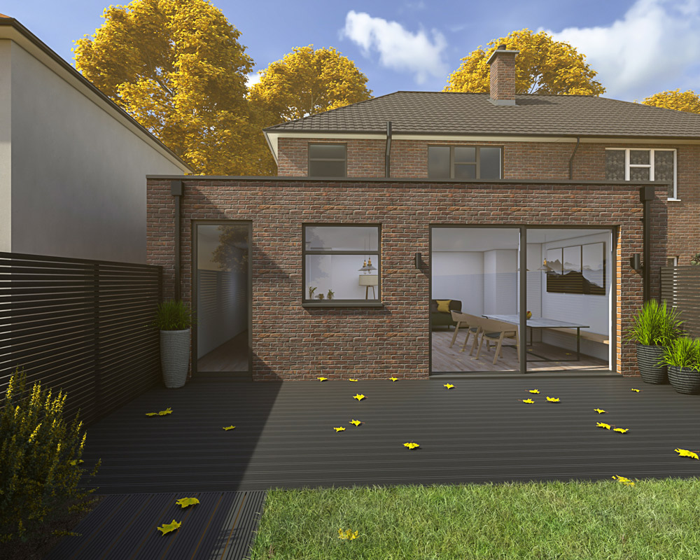 house extension cost - carter designs - architect Harrogate