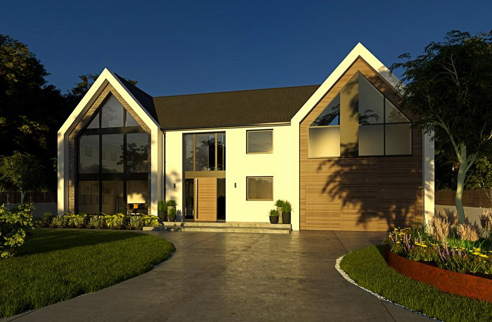carter designs - architect Harrogate - Alwoodley house extension